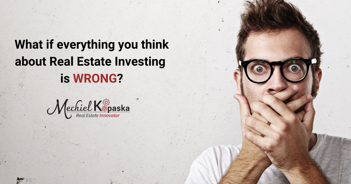 get into real estate investing
